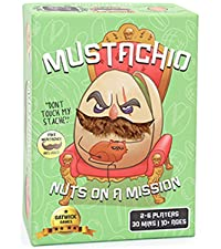 Mustachio card games funny games games for adults and family strategy card games best family games