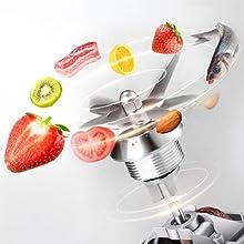 Blender Professional Blender Countertop Blender  Homeamp; Commercial Blender  Smoothies,Juice,BPA Free