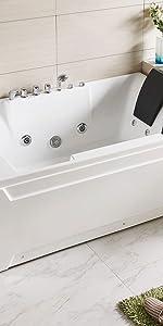 two person freestanding bathtub bubble machine spa