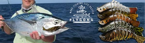 FlyGong aim to let you use simple fishing tackle to be better fishing angler.fishing gifts for men