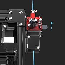 Creality-CR-30-3DPrintMill-3D-Print-Belt-Printer-Dual-Gear-All-Metal Extruder