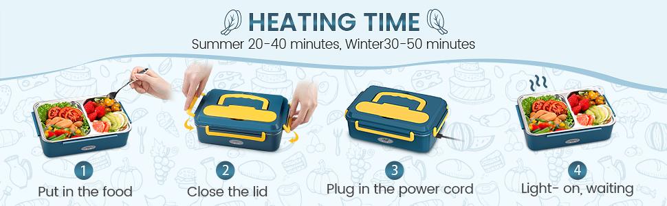 Usage & Heating Time