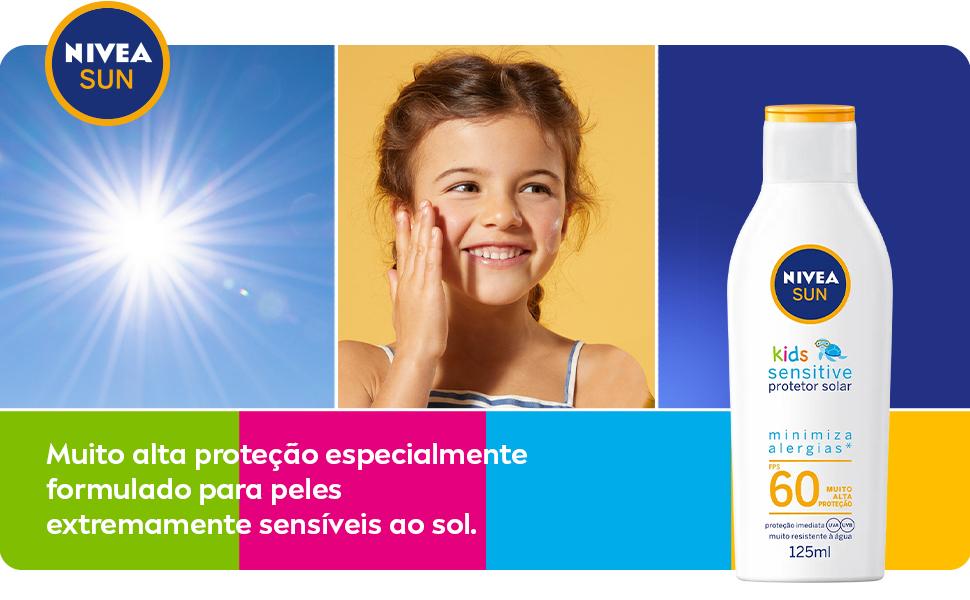 NIVEA SUN Kids Sensitive FPS60