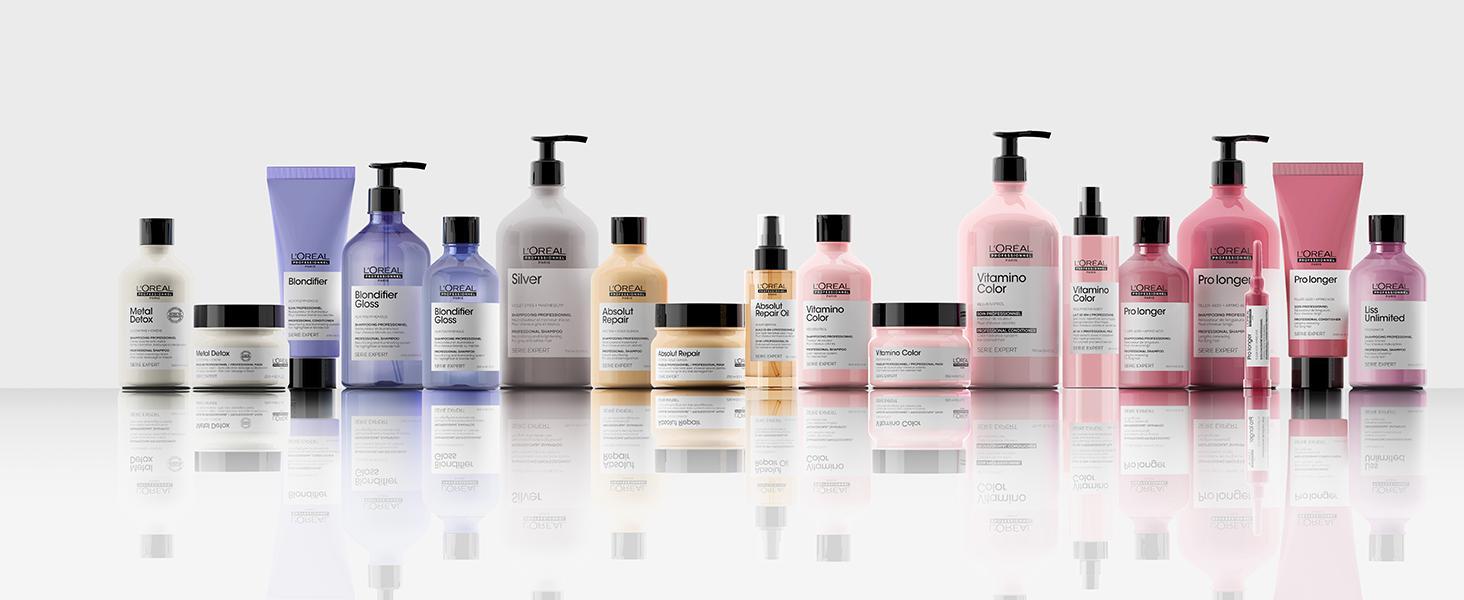 l'oréal professionnel gammes de soins capillaires ciblés pour tous les types de cheveux