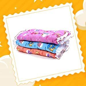 Fareto Newborn Baby Lacy Muslin Godari, Cradle Bed, Baby Bed (Multicolored)(0-6 Months)
