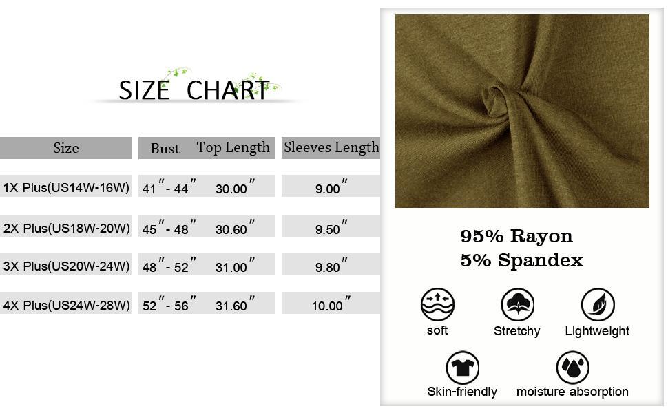 plus size tunic