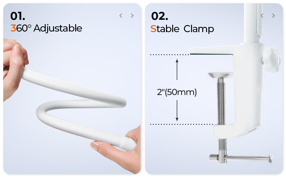 adjustable stable clamp
