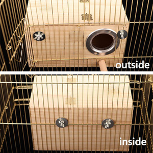 Inside/Outside Cage Mounting