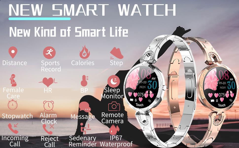 Ladies Fashion Smart Watch