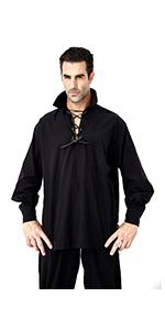 Renaissance Pirate Lace up Shirts