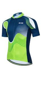 Uriah Menamp;#39;s Cycling Jersey Short Sleeve Reflective