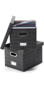 2pcs file box