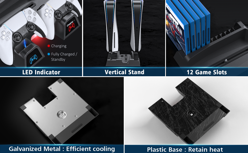 PS5 cooling stand