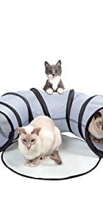 Single pipe cat toys