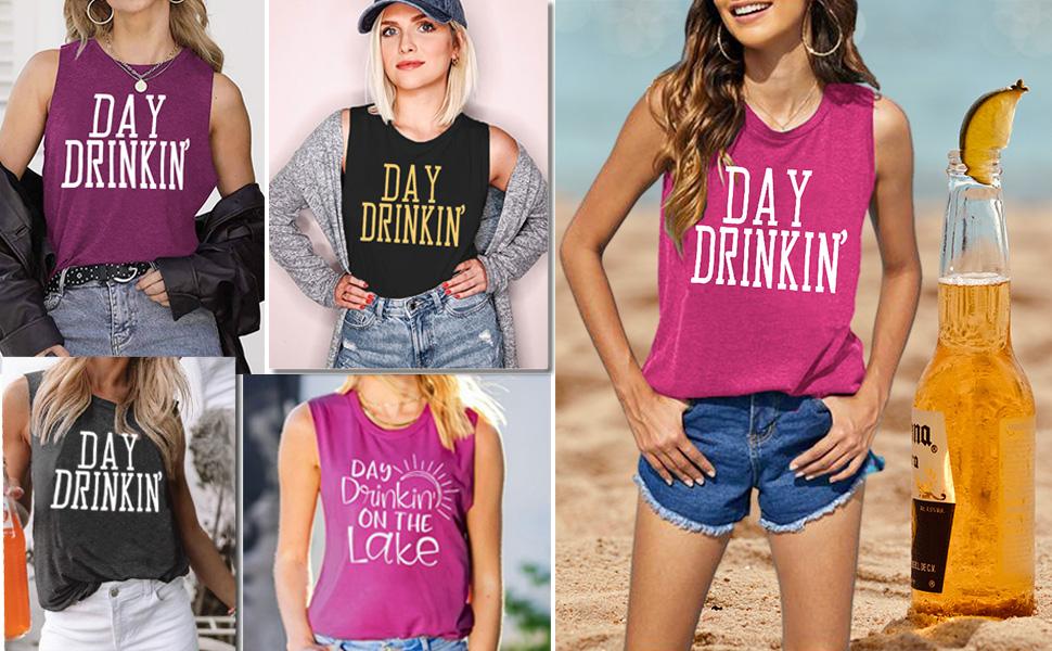 day drinking tank top women