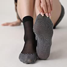 Cotton Sole Nylon Socks