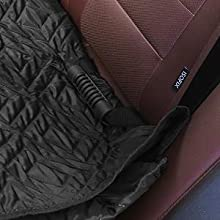 FEANDREA Dog Car Bench Seat Cover