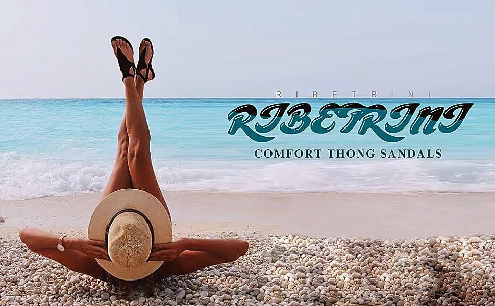 RIBETRINI COMFORT THONG SANDALS