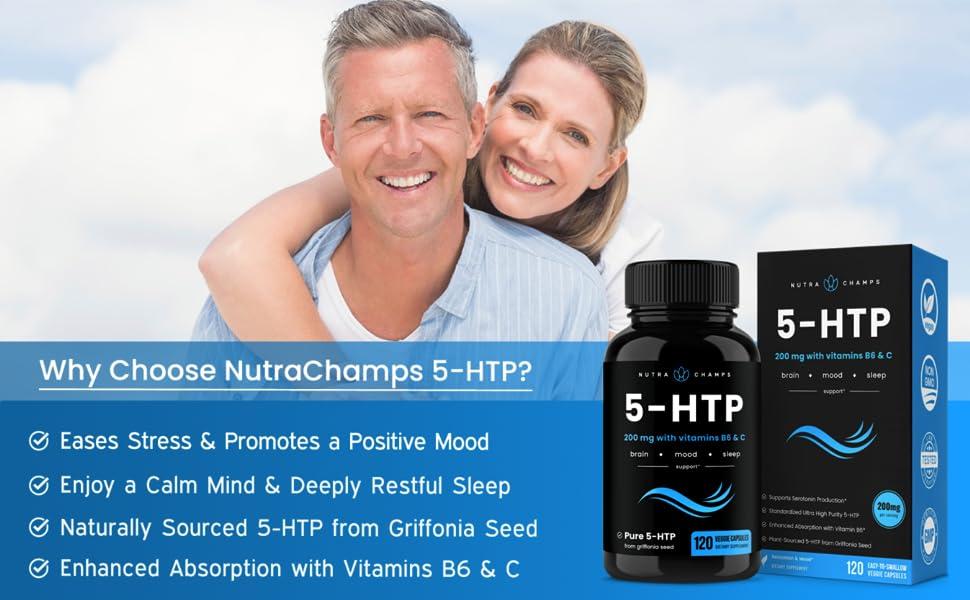 5 htp supplement 200MG
