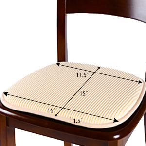 non slip chair pads seat pads for chairs set cushions for chairs