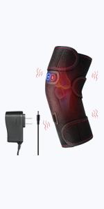 heated knee brace