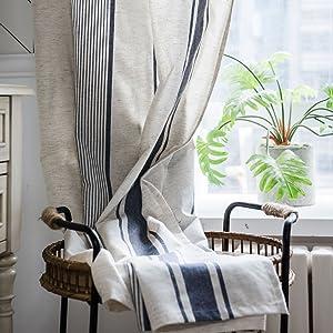 Stripe Window cutain