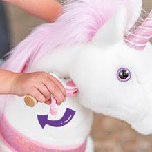 ponycycle riding unicorn horse toy for girls with brake