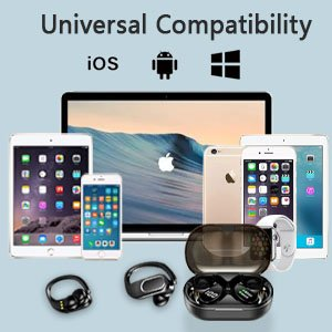 Compatible with Android and Apple devices