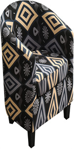2 Piece Tub Chair Cover