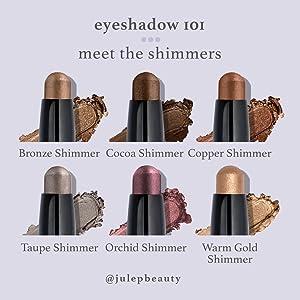 Eyeshadow 101 Shimmers