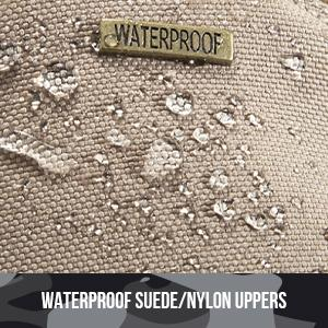 Water proof nylon uppers
