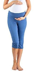 Women's Capri Maternity Leggings