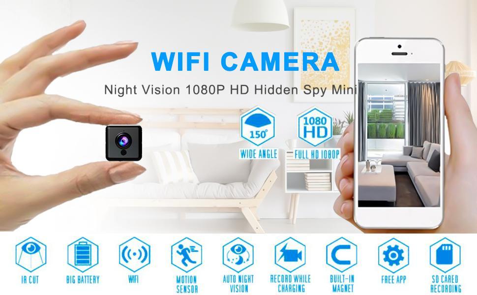 Multifunctional wifi hidden camera