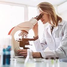 microscope lab scientist
