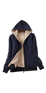 Womenamp;#39;s Full Zip Fleece Hoodie