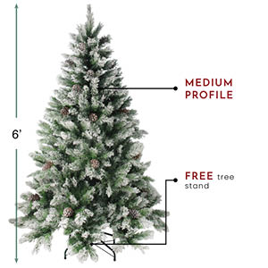 Angel Pine faux tree example