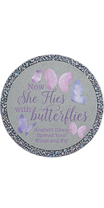 Flies with Butterflies Stepping Stone