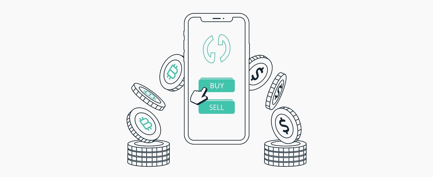 Crypto kopen en verkopen