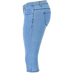 capri jeans for women