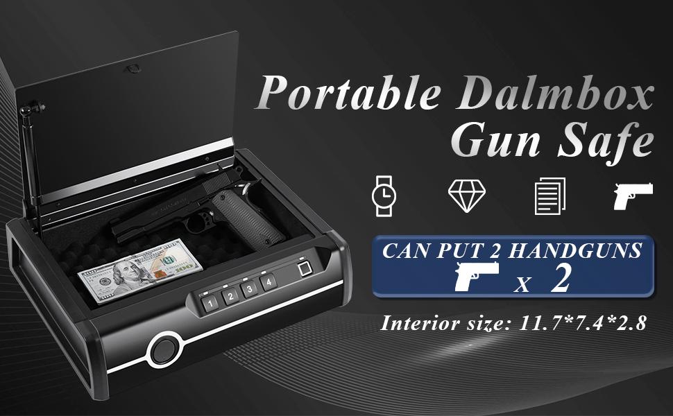 gun safe for 2 handguns
