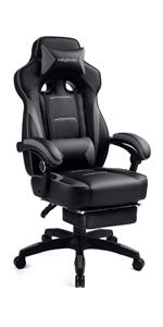 Gaming Chair with Footrest F59