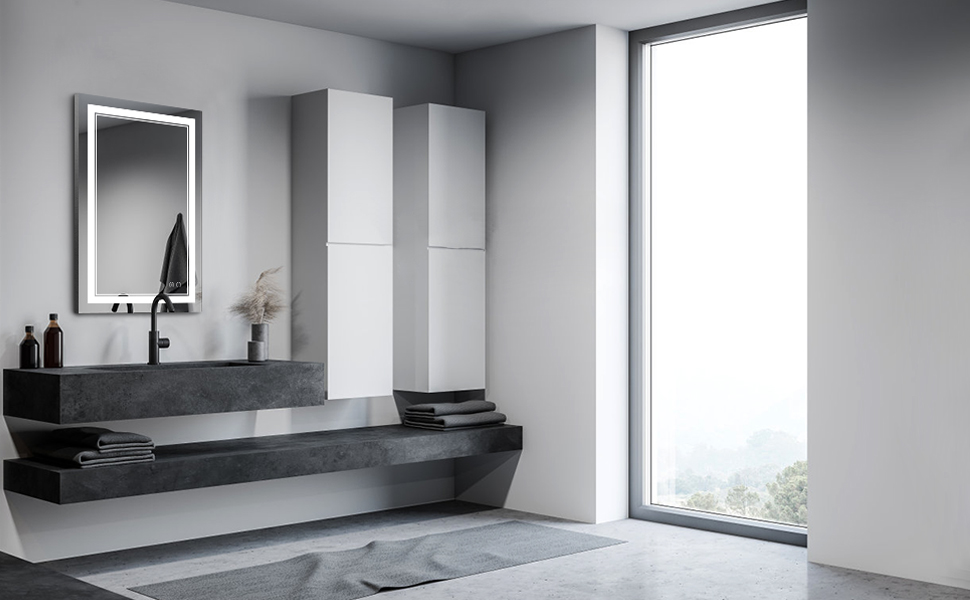 Vertical Bathroom Mirror
