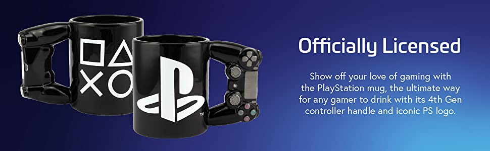 officially licensed PS controller mug