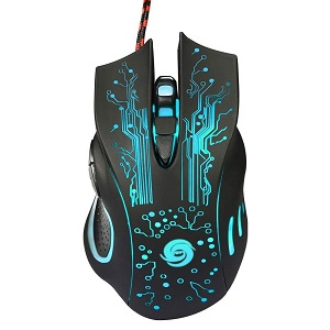 krenz Wired USB Gaming Mouse
