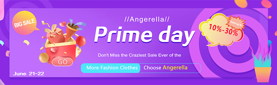 Save Discounts for Prime Day from Angerella