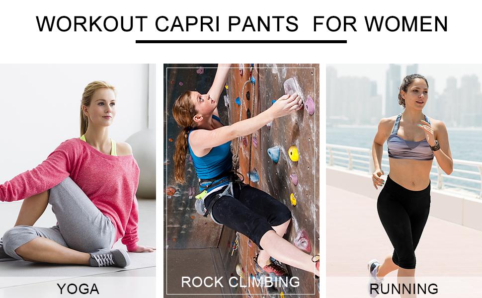 workout crop pants fro women