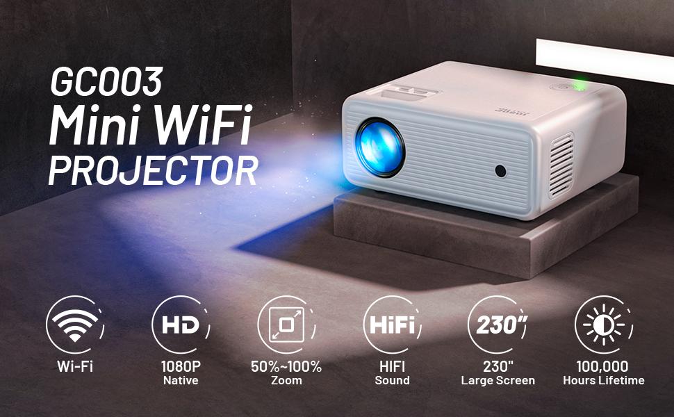 GC003 Mini Wifi Projector