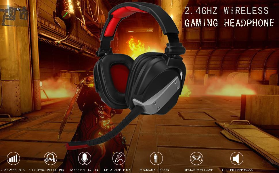 wireless game headsets