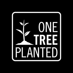 One Tree Planted partnership logo. Partnership to plant trees for each purchase