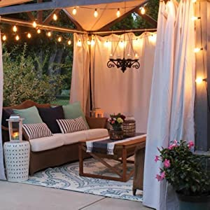 porch string lights outdoor